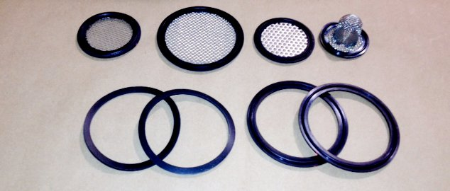 Mesh and Sock Screen Gaskets